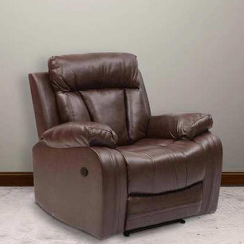 Single Seater Recliner Leather Sofa Size 3 Feet Rs 80000 Piece