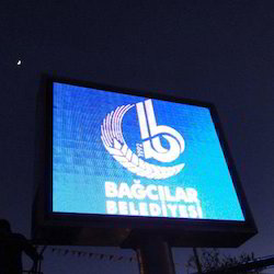 Outdoor Rectangle LED Screen, Pixel: 10 mm