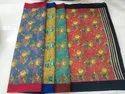 Ladies Colored Printed Kota Silk Saree