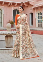 LT Saffron Vol 2 Soft Linen Saree