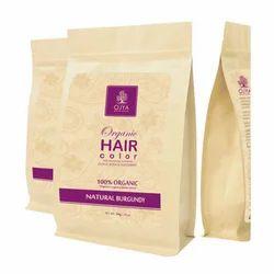 Organic Natural Burgundy Hair Color