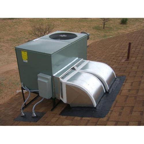 White 4 Star Industrial Rooftop Package Ac Unit  50 Ton