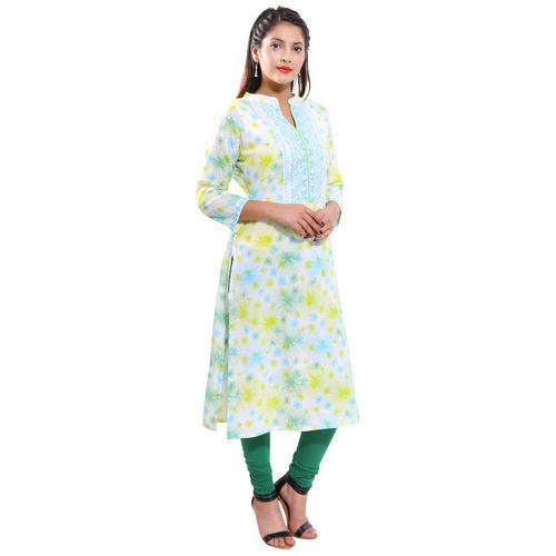 c8f4bbd8ce 3/4th Sleeve Cotton Summer Kurtis, Rs 350 /piece, Tarini Creations ...