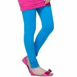 Plain Stretchable Churidar Leggings