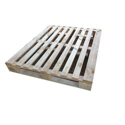 Rectangular Pinewood Pallet