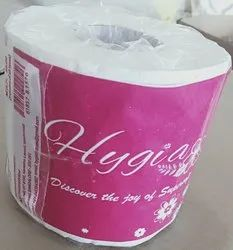 Plain White Toilet/Washroom Rolls, GSM: 17 Gsm, Packaging Type: Packet