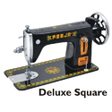 Manual Pooja Deluxe Square Sewing Machine For Household