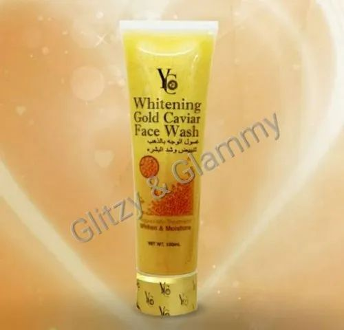 YC whitening gold cavier face wash, For New