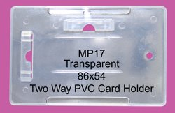 PVC ID Card Rectangular Holder