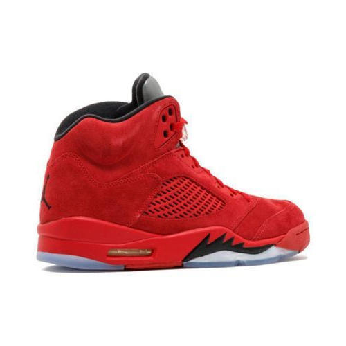 new style 23547 231da Nike Air Jordan 5 Retro Red Basketball Shoes