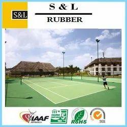 Outdoor Synthetic Acrylic 8 Layer Tennis Flooring