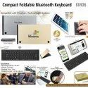Compact Foldable Bluetooth Keyboard KM06