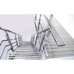Stainless Steel Stairs And Railing