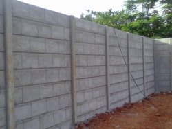 8 Feet RCC Compound Building Wall
