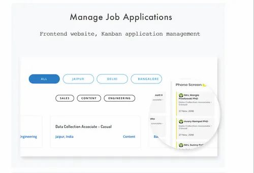 Recruitment Management Software - Froiden Technologies Private