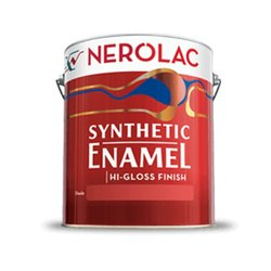 High Gloss Nerolac Synthetic Hi Gloss Metal Enamel Paints, Packaging Type: Bucket