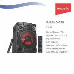 STAGE SPEAKER SYSTEM - G70