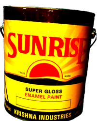 High Gloss Oil Based Paint Glossy Synthetic Enamel, Packaging Type: Tin, for Industrial