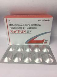 Rabeprazole Enteric Coated & Acelcofenac Sr Capsules
