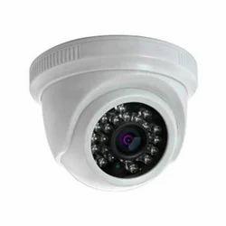White CCTV Dome Camera