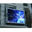 Mild Steel Rectangle HD PH 2.5 LED Display Screen, For Advertisements