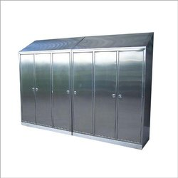 Silver SS Cabinets