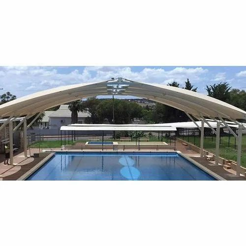 Free Standing Swimming Pool Tensile Cover