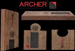 Hardwood Brown Archer Plywood, Thickness: 18 mm