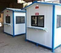 Sintex Plastic Security Cabins