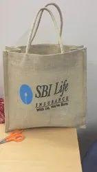 PBF Light Brown Promotional Jute Bag, Size: Rectangular