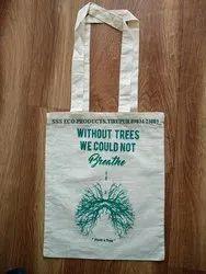 Long Handle Organic Cotton Handled Bag