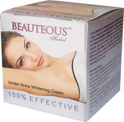 Herbal Under Arms Whitening Cream, Pack Size: 50gm