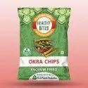 6 Months Vaccum Fried Okra Chips