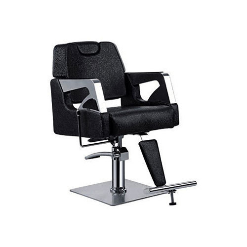 Tremendous Black Salon Chairs With Footrest Gmtry Best Dining Table And Chair Ideas Images Gmtryco