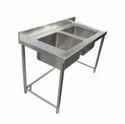 2 Sink Dish Wash Unit