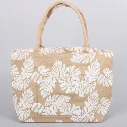 Printed Jute Tote Bags