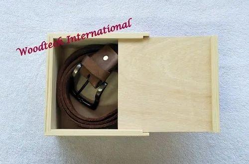 Wooden Belt Box