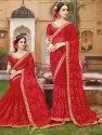 Pr Fashion Launched Beautiful Heavy Designer Saree