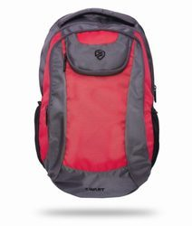Red Free Size Backpack