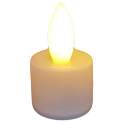 White Inglow Flameless Tea Light Candle