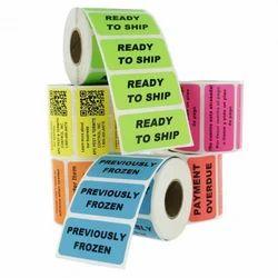 Standard Label/Sticker Printing Service in Roll Form