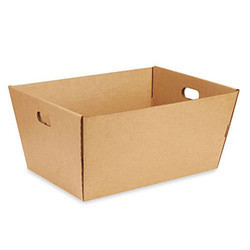 Plain Corrugated Tote Tray