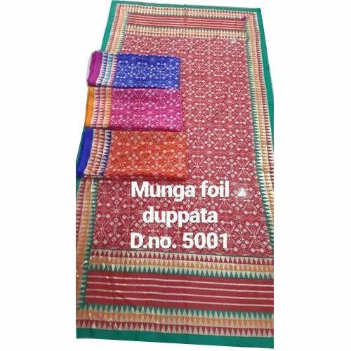 Foil Print Dupatta