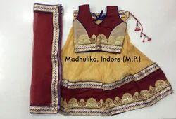 Heavy Crush Design Traditional Chaniya Choli.