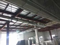 Round Stainless Steel Hvac Ducting service, For Industrial Use