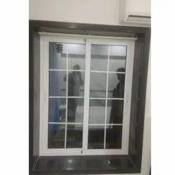 Rudra Tech 8 Feet UPVC Sliding Windows