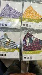 Villa Italia Cotton Safety Mask, Model Name/Number: Style 2
