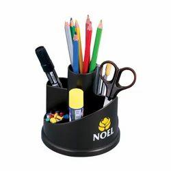 Black Plastic Pen Stand