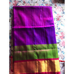 Pure Uppada Silk Saree, 6.2 M