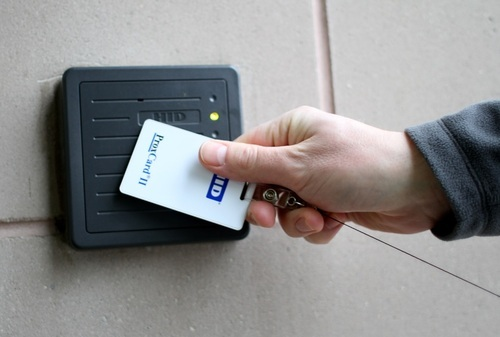Pvc And Abs Rectangular Swipe Cards Rs 18 Unit Smart